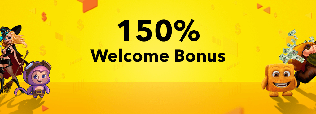 150% Welcome Bonus